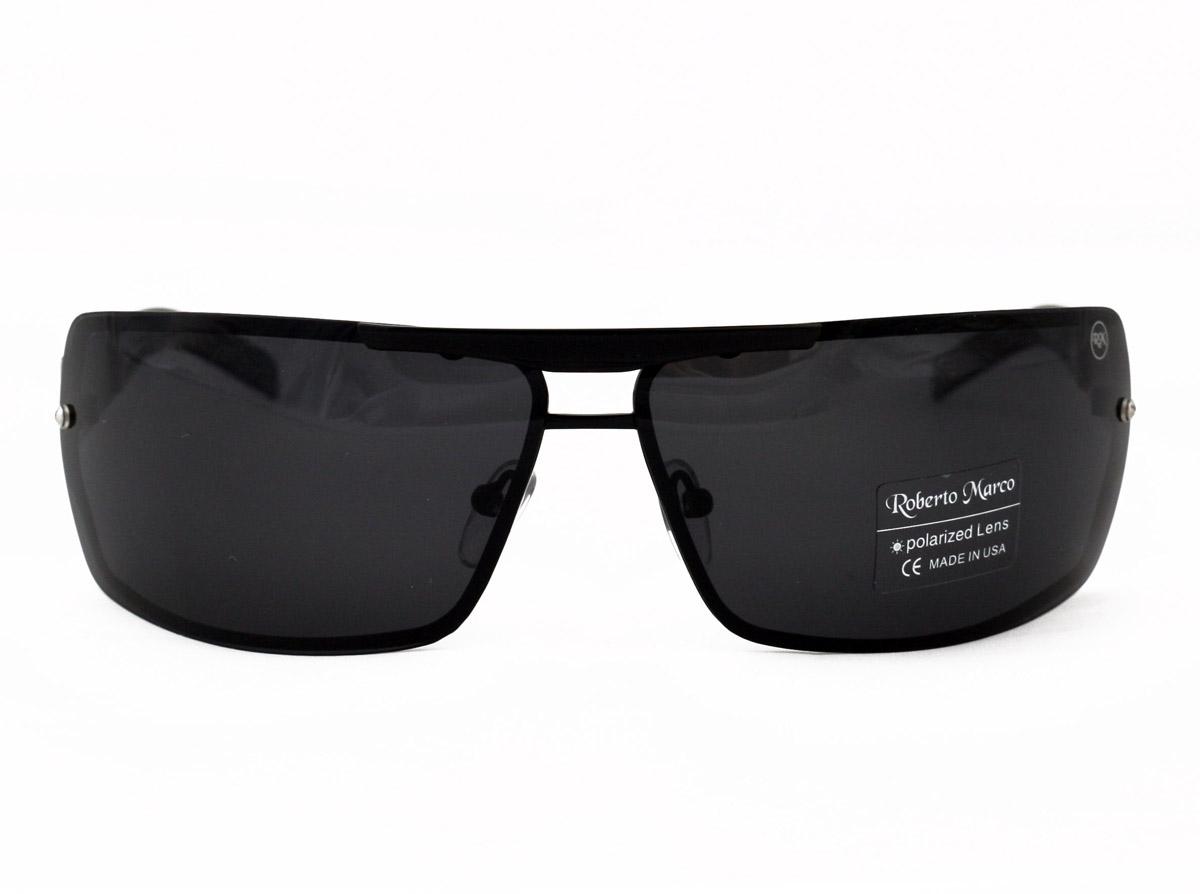e9cc4e71f6e Roberto Marco Polarized Sunglasses for Drivers New Design Metal Frame